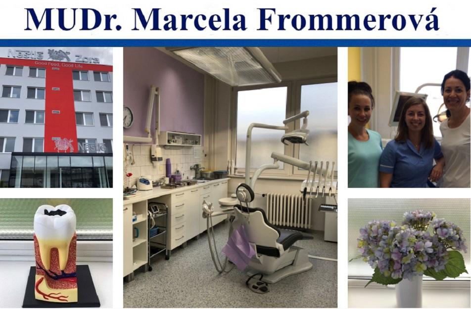 Zubní lékař MUDr. Marcela Frommerová